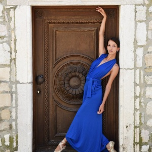 Modellfotó Magazin - Carinával Rab óvárosában