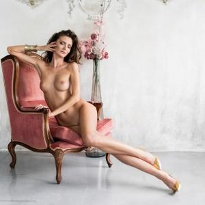 Modellfotó Magazin - Kappel Noémi glamour, akt fotózás