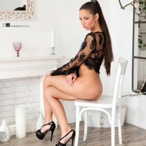 Modellfotó Magazin - Bocsi Barbara fekete fehér II