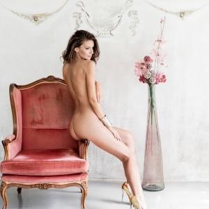 Modellfotó Magazin, Ixoramagazine International - Kappel Noémi glamour, akt fotózás