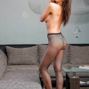NIF Magazine - Kate, High Heel And Net